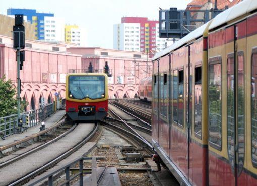 S-Bahnen auf der Stadtbahn