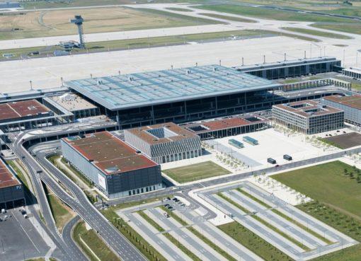 Terminal des Flughafen BER
