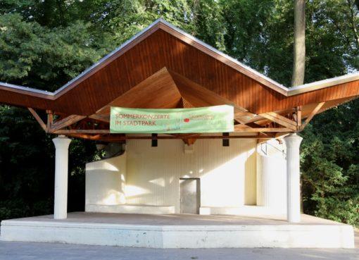 Musikpavillon im Stadtpark Steglitz