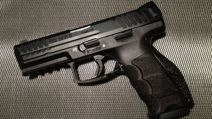 Dienstpistole HK-SFP9