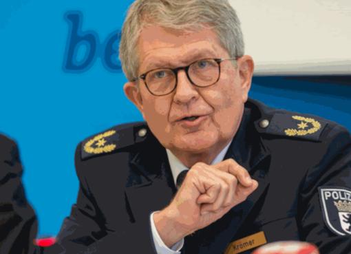 Polizeidirektor Michael Krömer