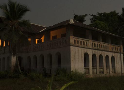 House of the Zenker family in Bipindi, built by Georg August Zenker (around 1896), Bipindi, Cameroon