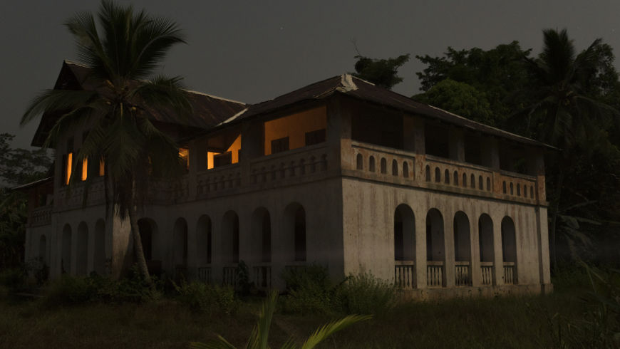 House of the Zenker family in Bipindi, built by Georg August Zenker (around 1896), Bipindi, Cameroon