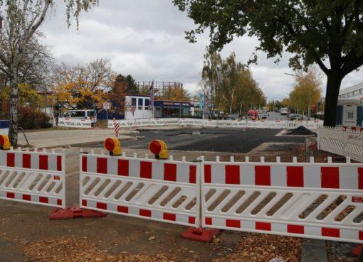 Baustellle Kamenzer Damm