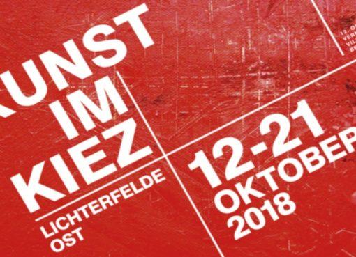 Kunst im Kiez 12.-21.10.2018