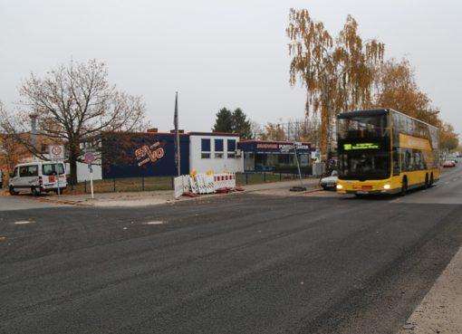 BUS 181 auf dem Kamenzer Damm