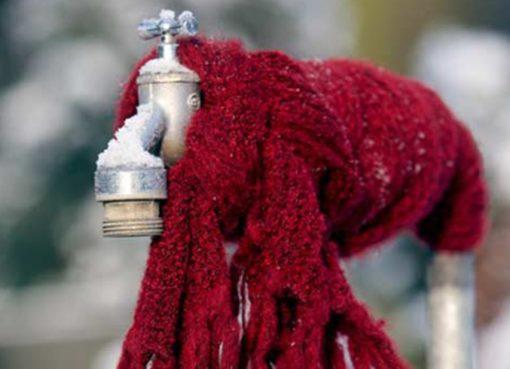 Frost kommt! Wasserleitungen schützen!