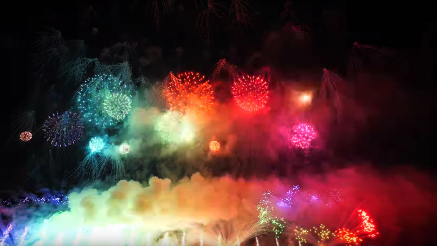 Nagaoka Feuerwerk Festival 2018