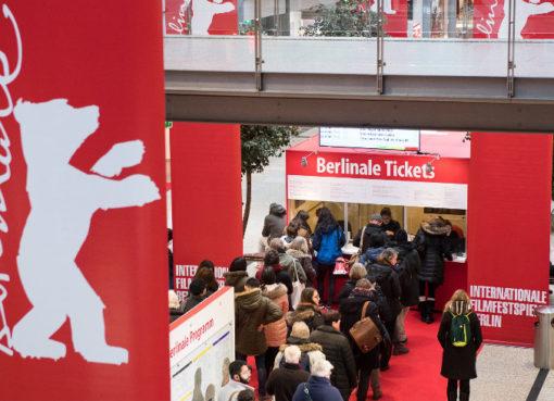 Ticket Counter in den Potsdamer Platz Arcade