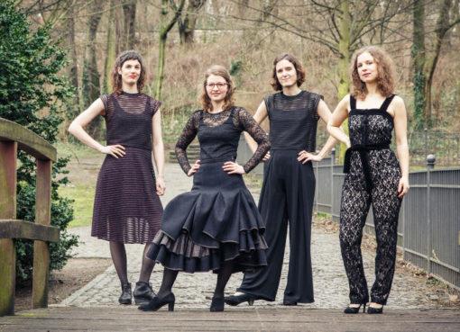 Pierrot Quartett junges Streichquartett