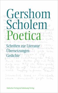 Gershom Scholem: Poetica