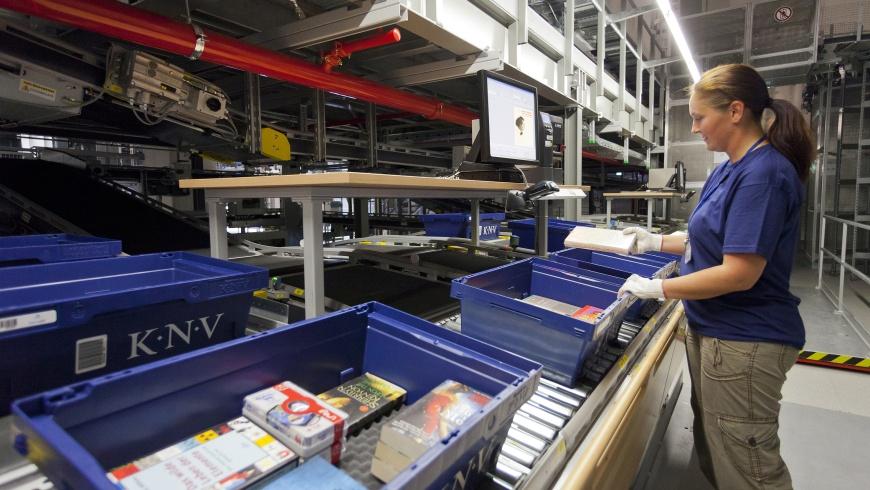 KNV-Packzentrum Erfurt