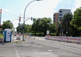 Baustelle Kaiser-Wilhelm-Straße