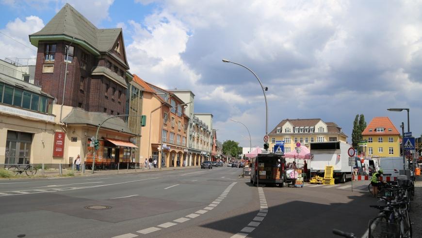 Markttag auf dem Kranoldplatz: