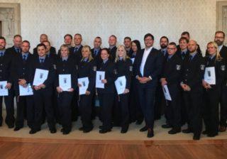Justizdienst: Neue Beamtinnen & Beamten