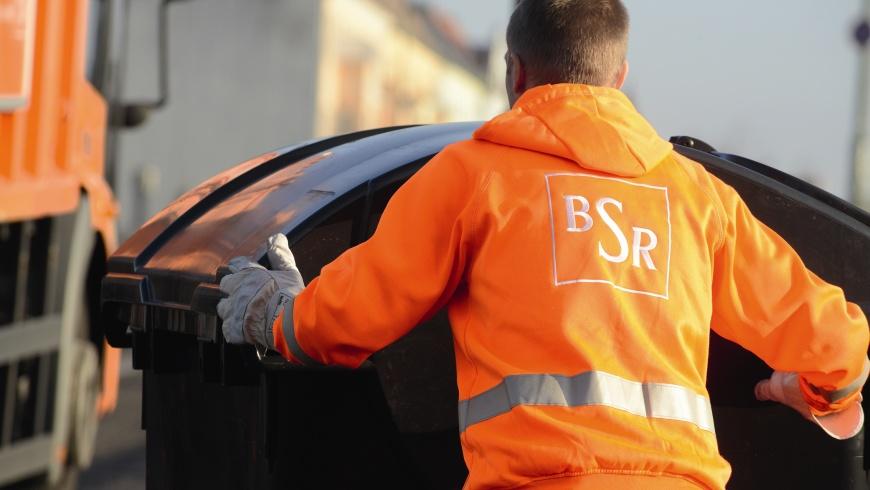 BSR-Müllwerker