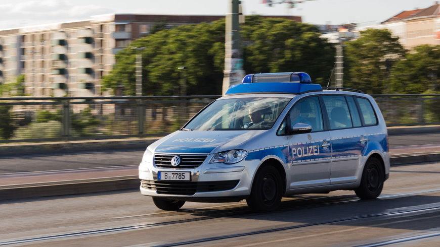Streifenwagen der Polizei Berlin