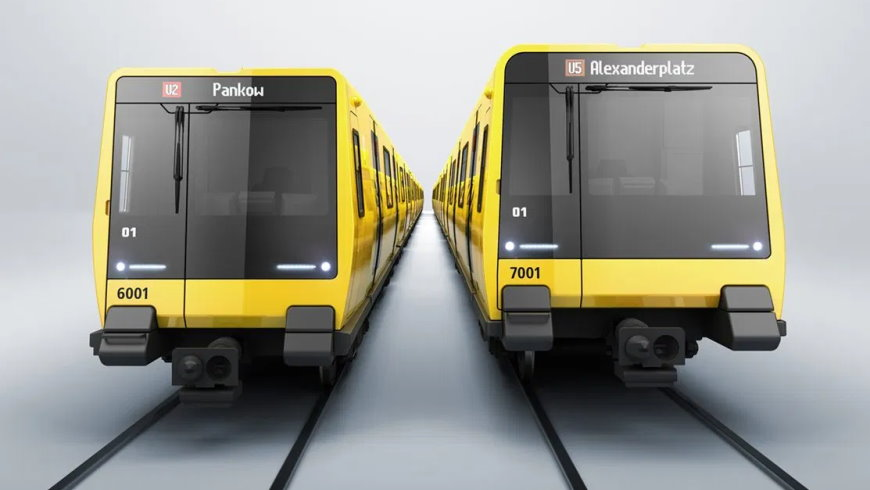 Stadler U-Bahn-Wagen der Baureihen «JK» und «J»