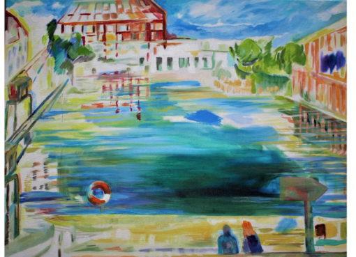 Ingrid Rafael: Tempelhofer Hafen