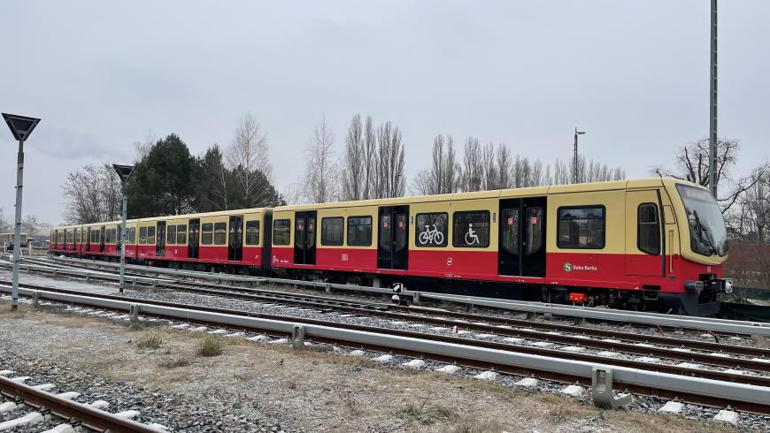 S-Bahn BR 481 modernisiert