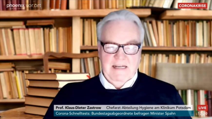 Prof. Klaus-Dieter Zastrow