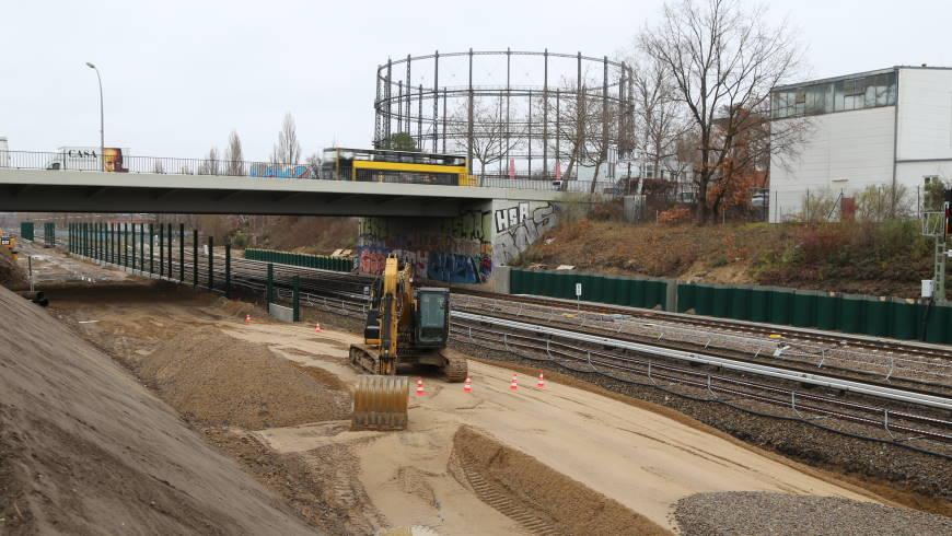 Wann kommt der S-Bahnhof Kamenzer Damm?