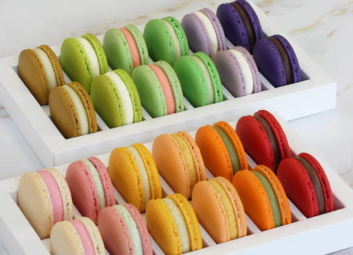 LOTI PANTÓN: Farbenprächtige Macarons